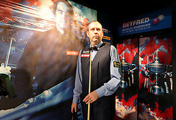 Mark Williams enters the crucible during day seventeen of the 2018 Betfred World Championship at The Crucible, Sheffield. PRESS ASSOCIATION Photo. Picture date: Monday May 7, 2018. See PA story SNOOKER World. Photo credit should read: Richard Sellers/PA Wire