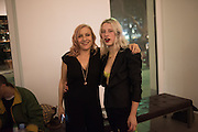 """EMILY BRADBURY; GUEST DJ: HARRIET VERNEY, The launch of Rachel Howard's """"Humble Hanger"""" -  a limited edition jewellery collaboration with True Rocks.. BlainSouthern, Hanover Sq. London. 18 November 2015"""