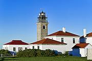 Beavertail lighthouse, Jamestown, Rhode Island, RI, USA