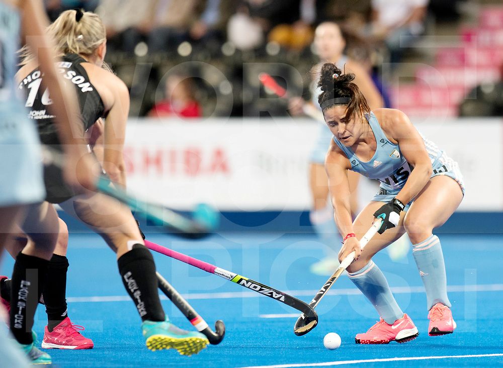 LONDON - Vitality Women's Hockey World Cup<br /> Argentina - New-Zealand (cross-over match)<br /> Photo: Maria-Jose Granatto.<br /> COPYRIGHT WORLDSPORTPICS FRANK UIJLENBROEK