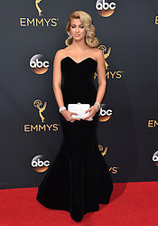 Tori Kelly attends the 68th Annual Primetime Emmy Awards at Microsoft Theater on September 18, 2016 in Los Angeles, California. Photo by Lionel Hahn/ABACAPRESS.COM