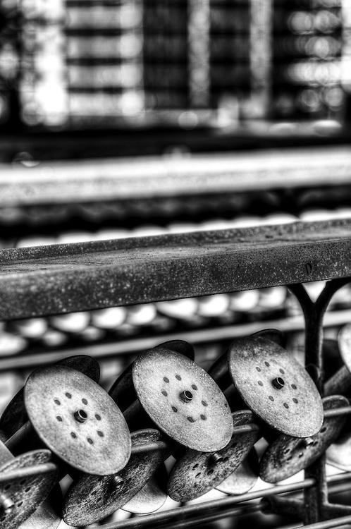 Lonaconing Silk Mill, silk machins spools