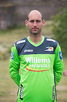 20150626 - OOSTENDE, BELGIUM: Oostende's Wouter Biebauw pictured during the 2015-2016 season photo shoot of Belgian first league soccer team KV Oostende, Friday 26 June 2015 in Oostende. BELGA PHOTO KURT DESPLENTER