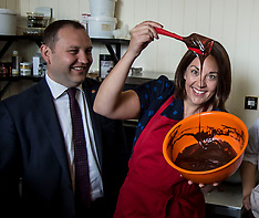 Kezia Dugdale at Chocolatiere | Edinburgh | 2 June 2017