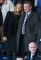 Football - Scottish Premier League - Rangers vs. Dundee United<br /> <br /> Craig Whyte the owner of Rangers with a female friend prior to the Rangers vs. Dundee United Scottish Premier League match at Ibrox Stadium Glasgow on November 5th 2011<br /> <br /> <br /> Ian MacNicol/Colorsport