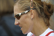 Lucerne, SWITZERLAND, CZE W1X, Mirka KNAPKOVA, Gold medalist   Third round of the  2009 FISA World Cup,  Rotsee Regatta Course, Sunday  12/07/2009 [Mandatory Credit Peter Spurrier/ Intersport Images]