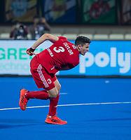 BHUBANESWAR, INDIA - Luke Taylor (Eng)    , England v Australia for the bronze medal during the Odisha World Cup Hockey for men  in the Kalinga Stadion.   COPYRIGHT KOEN SUYK