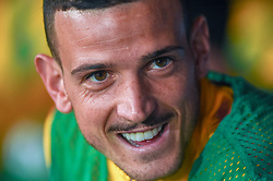 October 28, 2018 - Naples, Naples, Italy - Alessandro Florenzi of AS Roma during the Serie A TIM match between SSC Napoli and AS Roma at Stadio San Paolo Naples Italy on 28 October 2018. (Credit Image: © Franco Romano/NurPhoto via ZUMA Press)