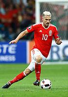 Aaron Ramsey (Wales)<br /> Lille 01-07-2016 Stade Pierre Mauroy Football Euro2016 Wales - Belgium / Galles - Belgio <br /> Quarter-finals. Foto Matteo Ciambelli / Insidefoto