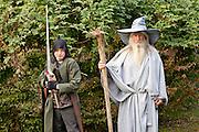 Frodo and Gandolf. Bynum, NC.