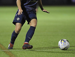 February 20, 2019 - Sheffield, United Kingdom - A generic image of the hands and feet of Jess Segsworth (Manchester United) during the  FA Women's Championship football match between Sheffield United Women and Manchester United Women at the Olympic Legacy Stadium, on February 20th Sheffield, England. (Credit Image: © Action Foto Sport/NurPhoto via ZUMA Press)