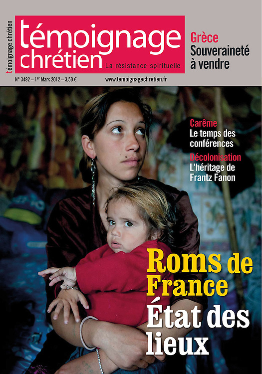 Cover. Assignment. The situation of Roma in France. (France)