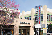 Shops and Restaurants at Claremont Village Square in Claremont California