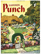 Punch Summer Number (Front cover, 17 May 1961)