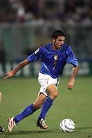 Palermo 4/9/2004 World cup 2006 qualifying match - Qualificazioni mondiali 2006. <br /> <br /> Italia - Norvegia  2-1 - Italy Norge 2-1 <br /> <br /> Stefano Fiore Italia - Italy<br /> <br /> Foto Andrea Staccioli Graffiti