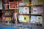 Chinese medicine shop,  London, England