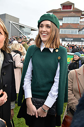 CHLOE HERBERT at the 2015 Hennessy Gold Cup held at Newbury Racecourse, Berkshire on 28th November 2015.