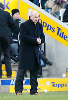 Photo: Steve Bond/Richard Lane Photography. <br />Leicester City v Hull City. Coca Cola Championship. 21/03/2008. Ian Holloway in the freezing conditions, cannot stop Leicester losing
