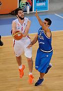DESCRIZIONE : Lubiana Ljubliana Slovenia Eurobasket Men 2013 Finale Settimo Ottavo Posto Serbia Italia Final for 7th to 8th place Serbia Italy<br /> GIOCATORE : Stefan Markovic <br /> CATEGORIA : tiro shot<br /> SQUADRA : Serbia Serbia<br /> EVENTO : Eurobasket Men 2013<br /> GARA : Serbia Italia Serbia Italy<br /> DATA : 21/09/2013 <br /> SPORT : Pallacanestro <br /> AUTORE : Agenzia Ciamillo-Castoria/N.Parausic<br /> Galleria : Eurobasket Men 2013<br /> Fotonotizia : Lubiana Ljubliana Slovenia Eurobasket Men 2013 Finale Settimo Ottavo Posto Serbia Italia Final for 7th to 8th place Serbia Italy<br /> Predefinita :