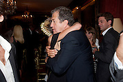 ALICE DELLAL; MARIO TESTINO, Dinner hosted by Elizabeth Saltzman for Mario Testino and Kate Moss. Mark's Club. London. 5 June 2010. -DO NOT ARCHIVE-© Copyright Photograph by Dafydd Jones. 248 Clapham Rd. London SW9 0PZ. Tel 0207 820 0771. www.dafjones.com.