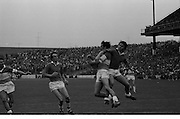 22.08.1971 Football All Ireland Semi Final Cork Vs Offaly..Offaly.1-16. Cork.1-11..