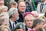 Nationale dodenherdenking bij het Nationale Monument op de Dam, Amsterdam. // National Memorial day at the National Monument on the Dam, Amsterdam.<br /> <br /> Op de foto:  André Kuipers