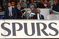 Tottenham chairman Daniel Levy looking on before kick off . Barclays Premier league match, Tottenham Hotspur v Stoke city at White Hart Lane in London on Saturday 15th August 2015.<br /> pic by John Patrick Fletcher, Andrew Orchard sports photography.
