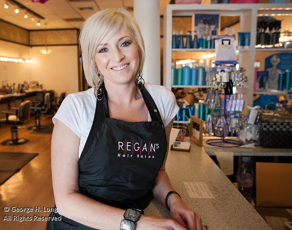 Regan's Hair Salon for LiFt Consulting