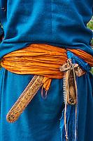 Mongolie, province de Bayankhongor, ceinture traditionnelle // Mongolia, Bayankhongor province, traditional belt