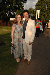Artist JONATHAN YEO and SHEBAH RONAY at the annual Serpentine Gallery Summer Party in association with Swarovski held at the gallery, Kensington Gardens, London on 11th July 2007.<br /><br />NON EXCLUSIVE - WORLD RIGHTS