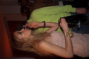 NOELLE RENO; SCOTT YOUNG;, Aldo launch. One Marylebone Rd. London. 21 June 2011<br /> <br />  , -DO NOT ARCHIVE-© Copyright Photograph by Dafydd Jones. 248 Clapham Rd. London SW9 0PZ. Tel 0207 820 0771. www.dafjones.com.
