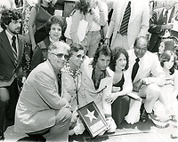 1977 Herb Alpert at his Hollywood Walk of Fame ceremony