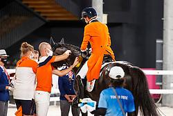 Gal Edward, NED, Glock's Total US, 151, Minderhoud Hans Peter, NED<br /> Olympic Games Tokyo 2021<br /> © Hippo Foto - Stefan Lafrentz<br /> 27/07/2021