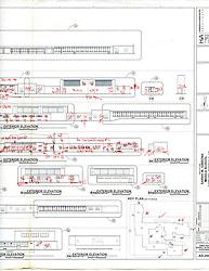 Sarah Gibbons Middle School Pre-Demolition Documentation. Key Plan Number 11 of 15