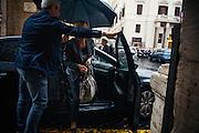 Beatrice Lorenzin arriva alla sede coalizione parlamentare Area Popolare, Roma 18 ottobre 2016. Christian Mantuano / OneShot<br /> <br /> Beatrice Lorenzin arrives at headquarters of the Popular Parliamentary Group Area, Rome October 18, 2016. Christian Mantuano / OneShot