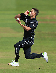 New Zealand's Trent Boult during the ICC Champions Trophy, Group A match at Sophia Gardens, Cardiff.