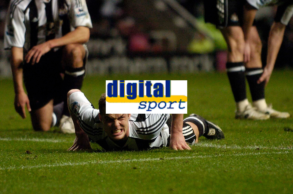 Photo: Jed Wee.<br /> Newcastle United v Aston Villa. The Barclays Premiership. 31/01/2007.<br /> <br /> Newcastle's Scott Parker.