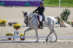 Cejudo Caro Antonio, ESP, Duque HSM<br /> FEI EventingEuropean Championship <br /> Avenches 2021<br /> © Hippo Foto - Stefan Lafrentz<br />  23/09/2021