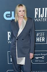 Gwendoline Christie at the 25th Annual Critics' Choice Awards held at the Barker Hangar in Santa Monica, USA on January 12, 2020.