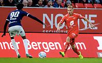 Fotball , 7. april 2019 , Eliteserien , Brann  - Strømsgodset 1-1<br /> Taijo Teniste , Brann