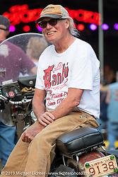 Kurt Klokkenga at the Broken Spoke Saloon in Ormond Beach during Daytona Beach Bike Week, FL. USA. Sunday, March 10, 2019. Photography ©2019 Michael Lichter.