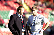 Leicester, Welford Road, Leicestershire, 30/09/2001, [L] Scott Quinnell, Heineken Cup, Leicester Tigers vs Llanelli, Heineken Cup,<br /> [Mandatory Credit: Peter Spurrier/Intersport Images],<br /> Leicester Tigers v Llanelli Euro Cup  <br /> 29/9/01