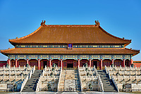 Taihedian Home of supreme harmony  imperial palace Forbidden City of Beijing China