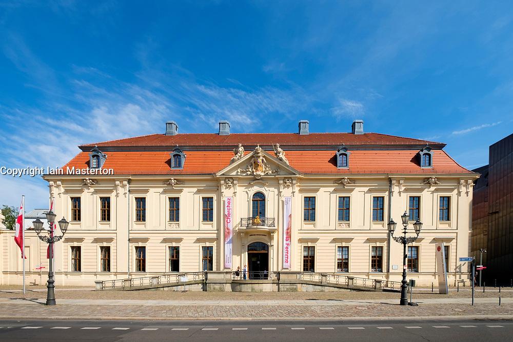 View of the Jewish Museum in Kreuzberg, Berlin, Germany