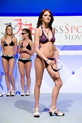 at event Miss Sports of Slovenia, on April 18, 2009, in Festivalna dvorana, Ljubljana, Slovenia. (Photo by Ales Oblak / Sportida)