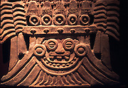 MEXICO, MEXICO CITY, MUSEUM Teotihuacan; rain god 'Tlaloc'