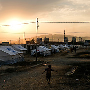 Syrian refugees who are fleeing the Turkish incursion in Rojava, arrived at Badarash IDPs camp as more than 800 have were welcomed to the facility in Dohuk, Iraq onThursday, October 17, 2019. More than 1000 refugees have arrived in Northern Iraq since the beginning of the conflict, with many saying they paid to be smuggled through the Syrian border.