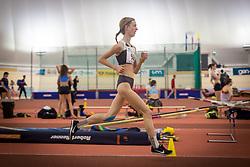Klara Ljubi competes during day 2 of Slovenian Athletics Indoor Championships 2020, on February 23, 2020 in Novo mesto, Slovenia. Photo by Peter Kastelic / Sportida