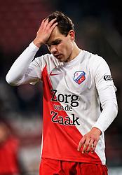23-11-2019 NED: FC Utrecht - AZ Alkmaar, Utrecht<br /> Round 14 / Justin Hoogma #3 of FC Utrecht