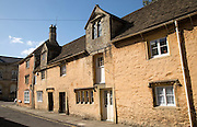 Historic buildings, Church Street, Corsham, Wiltshire, England, UK